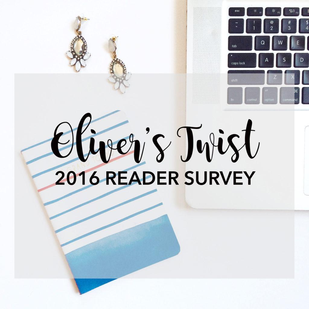 2016 blogging reader survey