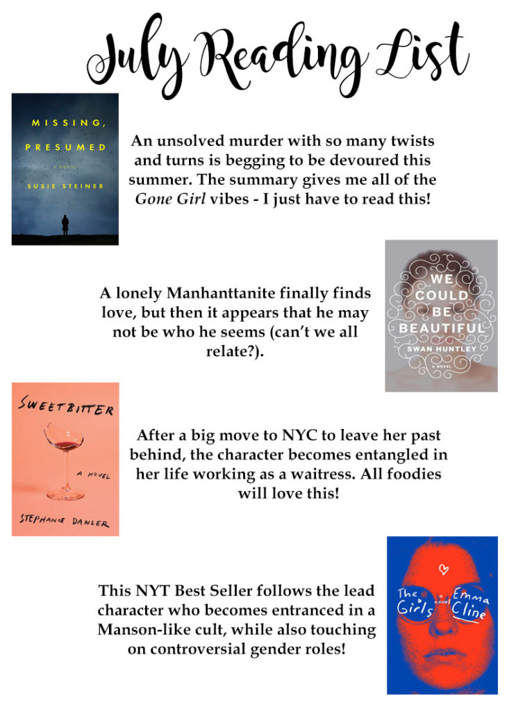 2016 summer reading list 1